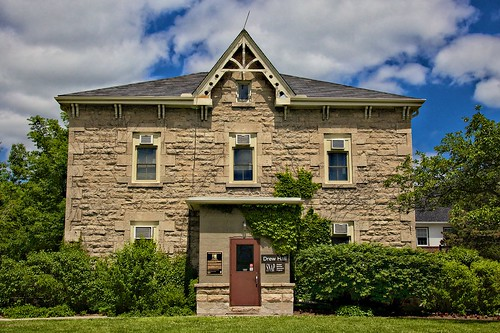 Guelph Ontario - Canada  - University of Guelph - Drew Hall - Heritage Building - 1882