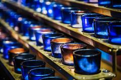 A little bit of light dispels a lot of darkness...Rabbi Schneur Zalman of Liadi (judi may) Tags: canada montreal candles blue vibrant light sliderssunday canon5d texture bokeh depthoffield dof blur alittlebitofdirtandgrunge
