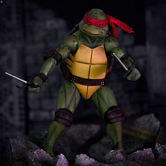 Neca Raphael (Jezbags) Tags: neca raphael teenage mutant ninja turtles actionfigure figure moon tutles 1990s nostalgia macro macrophotography dreams canon canon80d 80d 100mm closeup upclose knifes