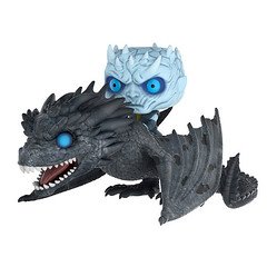 GOT Night King and Viserion Dragon Figure (mywowstuff) Tags: gifts gift ideas gadgets geeky products men women family home office