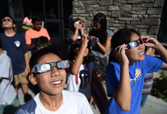 Diamond Bar Library - Solar Eclipse Activity (CEO_Countywide_Communications) Tags: select losangelescounty library solar eclipse 2017 sd4 diamond bar science eye protection glasses