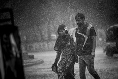 Rain (auniket prantor) Tags: people street rain rainy day environment raindrop dailylife vehicle girl boy asia south indian subcontinent culture walking dhaka bangladesh couple