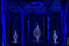 Aladins Lampen (monforklick) Tags: lightpaining aladinlampen lostplace blau blue langzeitbelichtung