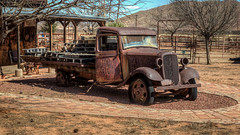 Good To Be Home (Wayne Stadler Photography) Tags: 2018 wildwest towns trucks ghosttowntrail retro vintage rustographer rust pearce west classic truck derelict desert roadside rusty rustography arizona usa abandoned southwest ghosttown