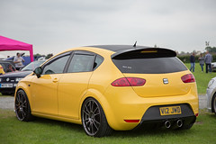 SEAT Leon (<p&p>photo) Tags: yellow seat leon seatleon lowered modified modded 2010 v12jwd worldcars cumbria vag show shine 2016 cumbriavag festival showshinefestival cumbriavagshow cumbriavagshowshinefestival showshine june2016 classiccarshow auto autos autoshow carshow lakedistrict westmorlandcountyshowground westmorland county showground kendal england uk englishlakedistrict dubside diesel