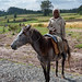 Ethiopian child on horse