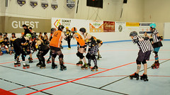230 (Bawdy Czech) Tags: lcrd lava city roller dolls spit fires basin bombers bend or oregon april 2018 skate derby wftda flat track bout