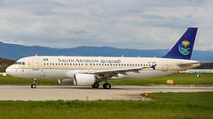 Airbus A320-214 HZ-ASB Saudi Arabian Airlines (William Musculus) Tags: airport spotting geneva geneve cointrin gva lsgg hzasb saudi arabian airlines airbus a320214 a320200 william musculus