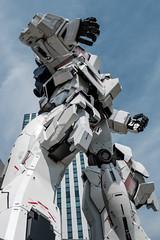 20180412 Gundam upshot (chromewaves) Tags: fujifilm xt20 xf 1855mm f284 r lm ois tokyo japan divercity gundam