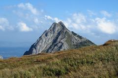 Giewont - The Tatra Mountains (Bogdan J.S.) Tags: europa europe polska poland tatry tatra giewont góry mountains szczyt peak landscape krajobraz sceneria scenery trawa grass przyroda natura nature niebo sky chmury clouds