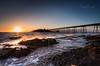 Splash (Chris Sweet Photography) Tags: splash coastal coast sunset birnbeck pier somerset goldenhour landscapeseascape