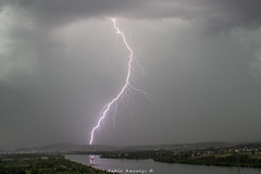 Orage foudre en vallée du Rhône (Fabio Aqualys Photographie) Tags: orage orages foudre éclair storm thunderstorm thunder nature natura lightning light ligthningstrike temporale fulmini fulmine