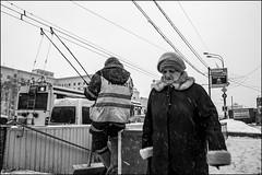 1_DSC6023 (dmitryzhkov) Tags: urban city everyday public place outdoor life human social stranger documentary photojournalism candid street dmitryryzhkov moscow russia streetphotography people man mankind humanity bw blackandwhite monochrome badweather snow blizzard snowfall winter