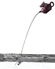 water (dr_scholz@ymail.com) Tags: water splash stream pot teapot chinese whitebackground studio canon5dmkii zeissmilvus2100m milvus2100m milvus1002ze