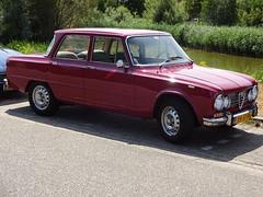 1974 Alfa Romeo Giulia 1300 Super (Skitmeister) Tags: yh51fy carspot nederland skitmeister car auto pkw voiture