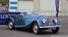 Morgan 4/4 1600 1977 (XBXG) Tags: 13ts29 morgan 44 1600 1977 blue bleu cabriolet cabrio convertible roadster tourer louwman british race festival 2018 circuit zandvoort nederland holland netherlands paysbas vintage old classic car auto automobile voiture ancienne anglaise brits uk vehicle outdoor