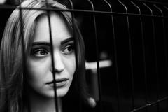 Lera (selchukov) Tags: blackandwhite bw bwportrait streetbw canon
