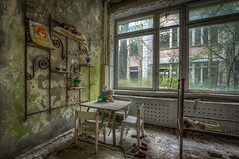 Pripyat Kindergarten (Lesley Langeveld) Tags: pripyat chernobyl urban exploration urbex abandoned ukraine exclusion zone