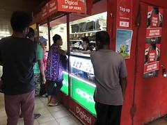 Phone Sales (kahunapulej) Tags: papua new guinea niugini pacific waa canoe