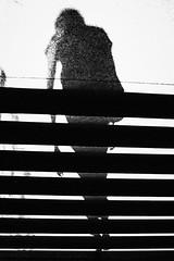 Pretend that I am weightless 336 365 (ewitsoe) Tags: canoneos6dii city ewitsoe street warszawa erikwitsoe poland summer urban warsaw stairs shadow human being alive goodbye canon monochrome blackandwhite bnw black