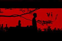DSC02104 (RAB THANASORN) Tags: streetphotography street streetphotographer streetphoto streetnowhere streetlife sony rx100 bangkok thailand night rabthanasorn rab thanasorn twilight red love broken
