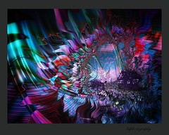 amethyst (horstdoehler) Tags: artwork abstract amethyst grove mountains