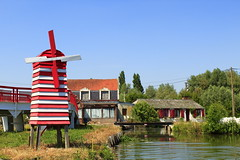Le Moulin (montane.stephane) Tags: marais moulin nature france pasdecalais saintomer