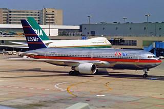 US Air Boeing 767-201(ER) N649US FRA 04-91