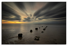 Dreaming (lynneberry57) Tags: northsands hartlepool leefilters bigstopper longexposure clouds movement colours coast nature canon70d beach night light dreaming seascape beauty peaceful