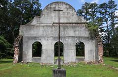 Pon Pon Chapel of Ease (Todd Evans) Tags: canon t6i southcarolina sc ponponchapelofease church ruins south southern chapel