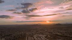 Para compartir (Brujo+) Tags: aérea nubes ocaso puestadesol sol sunset hermosillo sonora méxico mx