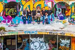 Wrecking Crew (Thomas Hawk) Tags: america bayarea california charli charliblake cossonhall jonathangoody michaelbonocore sf sagehall sanfrancisco slyvegas starburst suzannehaggerty treasureisland usa unitedstates unitedstatesofamerica westcoast abandoned decay graffiti fav10 fav25