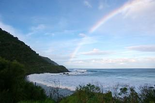 Rainbow marks the spot