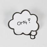 Speech bubble inscription Omg thumbnail
