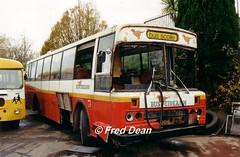 Bus Eireann MGS21 (21IK). (Fred Dean Jnr) Tags: capwelldepotcork buseireanncapwelldepot cork buseireann leyland leopard m21 mg21 21ik mgs21 capwell november1997 scrap
