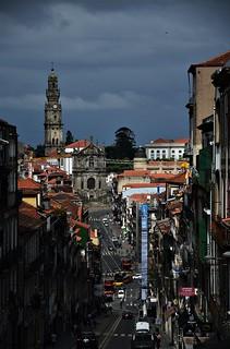 Porto - Street Panorama View