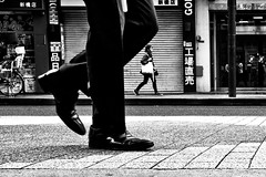 Walk this way.... (Victor Borst) Tags: geel street streetphotography streetlife re real reallife realpeople asia asian asians faces face candid travel travelling trip traffic traveling urban urbanroots urbanjungle blackandwhite bw mono monotone monochrome walking shimbashi japan japanese city cityscape citylife
