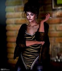 CANIMAL: Si no sueñas, nunca encontrarás lo que hay más allá de tus sueños. (pattybartavelle) Tags: canimal fashion sl secondlife virtual avi avatar maitreya catwa clothes dress