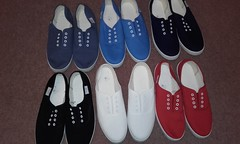 Weather not so good right now for me to wear any of these summery plimsolls.  Which is your favourite? (eurimcoplimsoll) Tags: