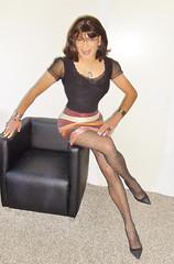 new skirt (Katvarina) Tags: crossdress crossdresser crossdressing shiny transgender transgirl transsexual metrosexuality kat skirt