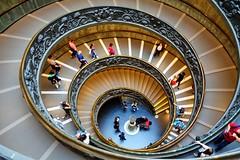 Treppe Vatikan Museum (gerhard-pr) Tags: vatikan treppe rom museum