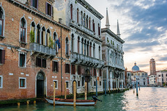 Venice...008 (Gorky1985) Tags: venice venedig italy italien building sky grand canal channel water wasser landscape boat architecture colors nikon nikkor 18105 d5300 goran cosic clouds farbe sunset kanal