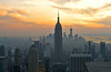 TOTR sunset (Jamie Takes Pics!) Tags: travel new york nyc totr newyork city sunset empire state building