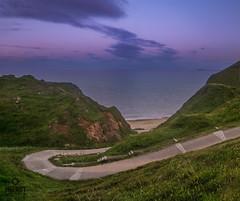 The long and winding road (Impact Imagz) Tags: traighghioradail pathways road northtolsta isleoflewis outerhebrides westernisles hebrides scotland seascape cloudsstormssunsetssunrises cloudscapes beltofvenus sunset
