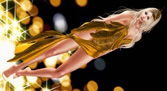 I gave my love a golden feather (NefrytkaResident) Tags: tanqueraypassion giz gizseorn hikaruenimo argrace hair ncore paula shoes dress feat feathers women girl event events cosmopolitan maitreya belleza slink catwaclip catwa bento ibuki fashion blog blogger shop nefrytka sl secondlife firestorm rikaoyen ncoredesigns