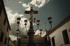 El Cristo de los Faroles (Colector_Col) Tags: religioso urbano faroles cruz monumento cordoba españa