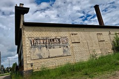 Trewhella's IGA, Palmer, MI (Robby Virus) Tags: palmer michigan mi up upper peninsula trewhellas iga grocery store business ghost sign signage faded ad advertisement