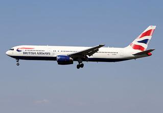 BRITISH  AIRWAYS / Boeing   B 767-300   G - BZHA / LFBO - TLS / août 2018