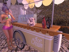 I Scream You Scream for Sn@tch (Sangi Phaeton SL) Tags: sntch icecream malaikapark halfdeer amitie mischevious kc