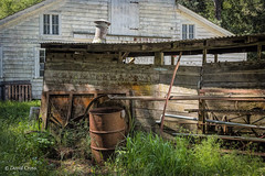 Behind the Barn (buffdawgus) Tags: california losaltoshills barn lightroom6 topazstudio santaclaracounty canonef24105mmf4lisusm canon5dmarkiii hiddenvillafarm